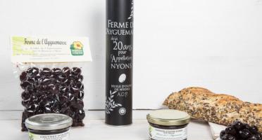 La Ferme de l'Ayguemarse - L'Olive de Nyons : olives, tapenade, chutney, huile