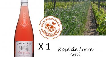 Le Clos des Motèles - Aoc Rosé De Loire 2019. 1 Bouteille