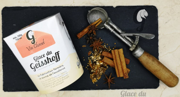 Glace du Geisshoff - Vin Chaud Crème Glacée Fermière Au Lait De Chèvre 750 Ml