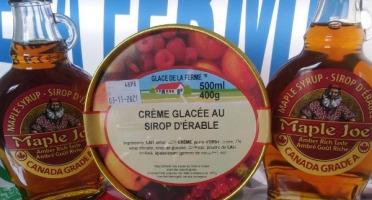 Les Glaces de la Promesse - Crème glacée au Sirop d'Erable