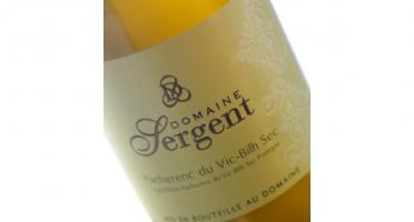 Domaine Sergent - Pacherenc Du Vic-bilh Sec 2019 - Lot de 6 bouteilles
