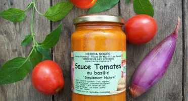 HERBA HUMANA - Sauce Tomate Au Basilic - 37cl