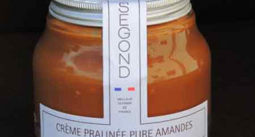Philippe Segond MOF Pâtissier-Confiseur - Pâte À Tartiner Pure Amande Sans Huile De Palme