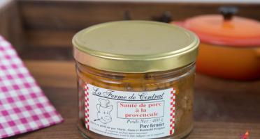La Ferme de Cintrat - Sauté de porc à la provençale