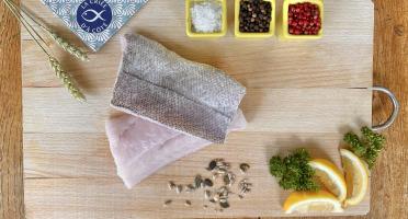 La Criée d'à Côté - Filets de Merlu sur peau - 2 filets - 1 kg