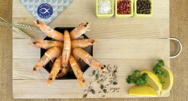 La Criée d'à Côté - Crevettes roses tropicales - 30 à 50 pièces - 1 kg