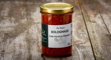 La Ferme Schmitt - Sauce Bolognaise Pure Volaille de Plein Air 200g