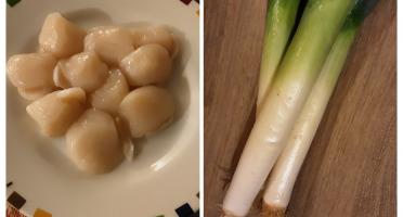Gourmets de l'Ouest - Noix de St Jacques et poireaux de Saint Malo