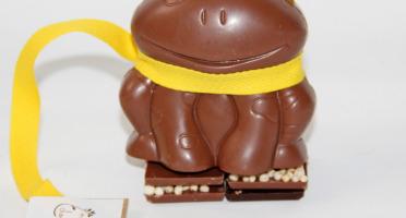 Mon jardin chocolaté - Grenouille de Pâques Chocolat Au Lait