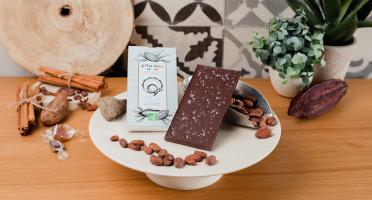 Le Petit Atelier - Tablette Chocolat Noir Bio À La Fleur De Sel