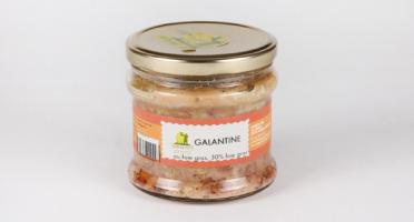 Maison Tête - Galantine au foie gras. 30% de foie gras - 180G