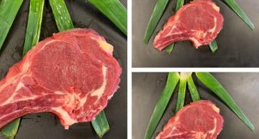 La ferme du Roseix - Cotes Première de Veau Limousin x3 - 1kg