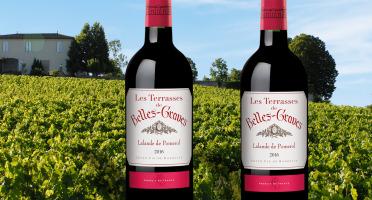 Château Belles-Graves - AOC Lalande de Pomerol 2016 - Les Terrasses de Belles-Graves 2x75cl