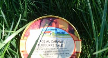 Les Glaces de la Promesse - Glace Au Caramel Beurre Salé