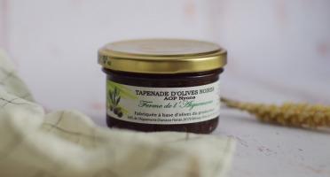 La Ferme de l'Ayguemarse - Tapenade d'Olive Noire de Nyons AOP