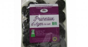 Ferme du Lacay - Pruneaux d'Agen Mi-cuits Bio Maxi-géant - 375g