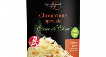 Choucroute André Laurent - Choucroute Spéciale Coeur De Chou - Lot De 12 Boites De 400g