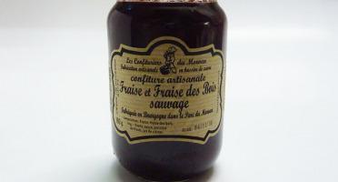 Fromage Gourmet - Confiture de Fraise et fraise des bois sauvage