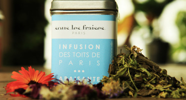 Sous les fraises - Epicerie des Toits de Paris - Infusion Apaisante