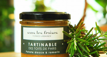 Sous les fraises - Epicerie des Toits de Paris - Tartinable Patate douce & Romarin