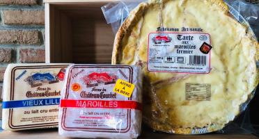 La Ferme du Château Courbet - L'original : Maroilles Affiné À La Bière, Vieux Lille Et Flamiche