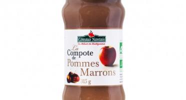Les Côteaux Nantais - Compote Pommes Marrons 315 g