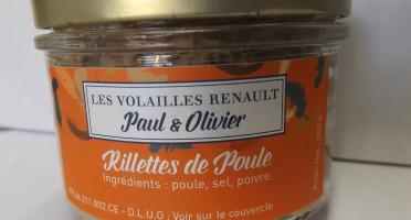 Volailles Renault - Rillette De Poule Coucou De Rennes