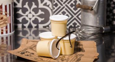 Le Petit Atelier - Lot De 4 Pots De Crème Dessert Vanille
