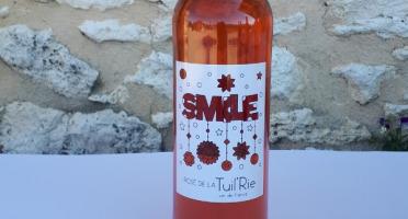 """Domaine de la Tuilerie - Rosé de La Tuil'erie """"smile"""" 2019 ,Vin de France - 75 cl"""