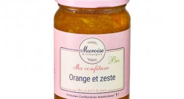 Muroise et Compagnie - Confiture de Orange Avec Zeste Bio - 350 gr