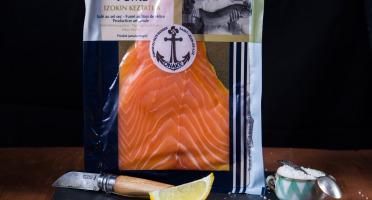 ONAKE - Le Fumoir du Pays Basque - Tranches de Saumon Écossais, Fumé au Bois de Hêtre - 2 Pers