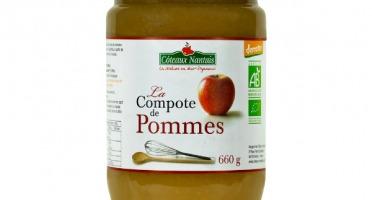 Les Côteaux Nantais - Compote Pommes 660g Demeter
