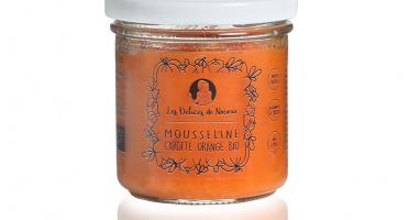 Les délices de Noémie - Petits Pots Bébé 6 Mois: Lot de 6 Mousseline Carotte Orange Bio