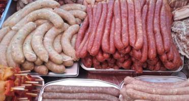Le Jardin des Gallines - Assortiment Barbecue De Chipolatas De Poulet - 5 Saveurs 3kg