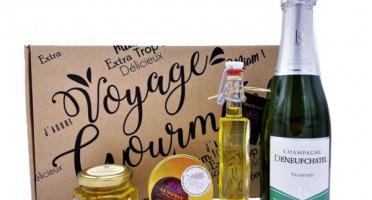 "Le safran - l'or rouge des Ardennes - Coffret ""Voyage Gourmand"" Champagne & Safran, 0.50gr"