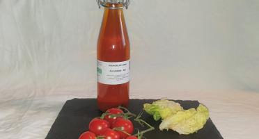 La Ferme du Montet - Vinaigre de cidre au safran BIO -25 cl