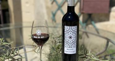 Domaine du Mas de Rey - IGP Terre de Camargue - Cuvée ''Esprit Camargue rouge 2018'' , Lot de 6 Bouteilles