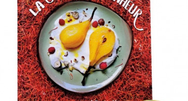 """Le safran - l'or rouge des Ardennes - Pack Livre """"La cuisine du bonheur"""" et Safran sec en filaments : le pot fin gourmet, 0.50gr"""