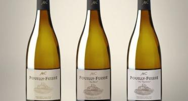 Michel Camusat - Coffret Sélection de Pouilly Fuissé AOC - Vin de Bougogne - 3 bouteilles