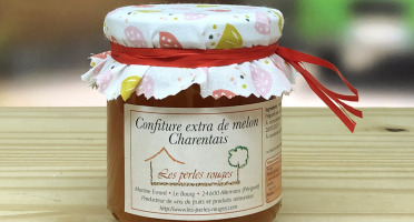 Les Perles Rouges - Confiture Extra De Melon Charentais