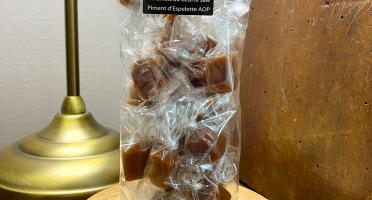 L'AMBR'1 Caramels et Gourmandises - Caramels Au Piment D'Espelette AOP - Sachet De 130g