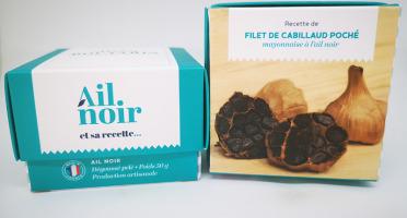 Maison Boutarin - Ail noir dégoussé pelé + recette du cabillaud