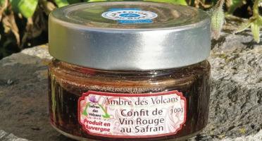 Safran des Volcans - Confit de Châteaugay au Safran 100g