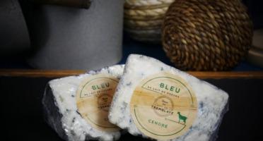 Ferme de La Tremblaye - Bleu Cendré Au Lait De Chèvre Portion 125g