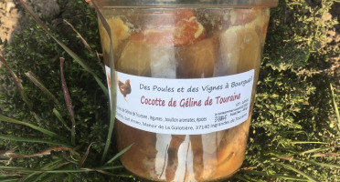Des Poules et des Vignes à Bourgueil - Cocotte De Géline De Touraine