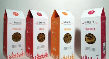 La bonne pâte de Beauce - Assortiment De Pâtes Au Blé Complét, 3x4 Boîtes