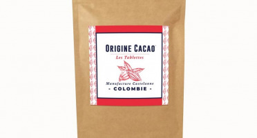 Maison Castelanne Chocolat - Tablette Colombie - Maceo 72% - Fèves Origine Bio