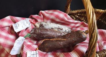 La Ferme du Luguen - Saucisson Sec 100% Canard Au Piment D'espelette