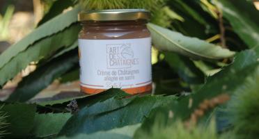 L'Art des Châtaignes - Crème De Châtaignes Allégée Sucre - Orange