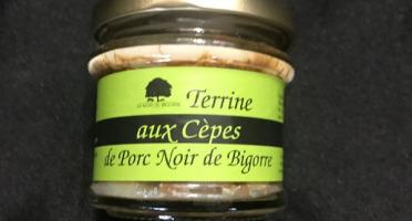 Marie et Nicolas REY - Domaine REY - Terrine de Porc Noir de Bigorre Aux Cèpes AOP